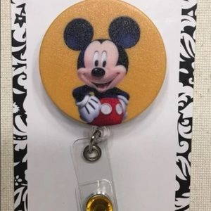 Mickey Mouse Badge Holder
